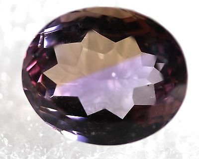 Genuine Natural Ametrine Oval Shape Faceted AM-66