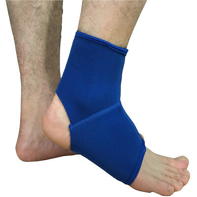 Unisex Elastic Ankle Wrap Support Sports Workout Protector Sleeve HU004