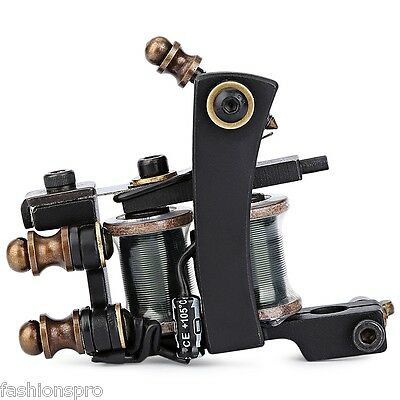 new Professional tattoo machine with Liner Gun 12 Wrap Coils