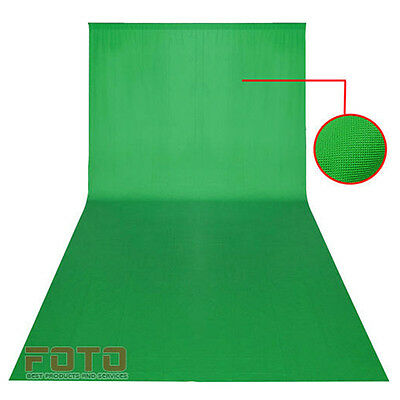 Pro Photo Green Screen chroma key 10x20ft 3x6m Background Backdrop Photography