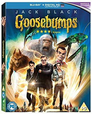 Goosebumps [Blu-ray] [2016] [DVD][Region 2]