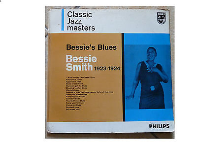 Bessie Smith * Bessie's Blues 1923-1924 * Vinyl Lp  Philips Bbl.7513 Plays Great