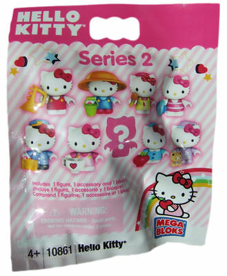 Hello Kitty Megabloks Series 2 Blind Figure Bags - NEW