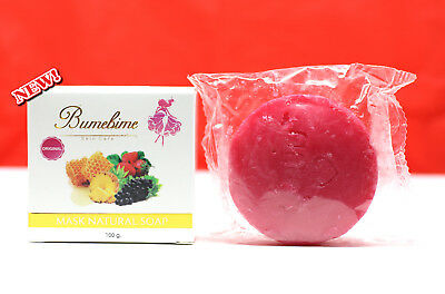 2x Bumebime soap Skin Body whitening can be very fast double white+++Thai new