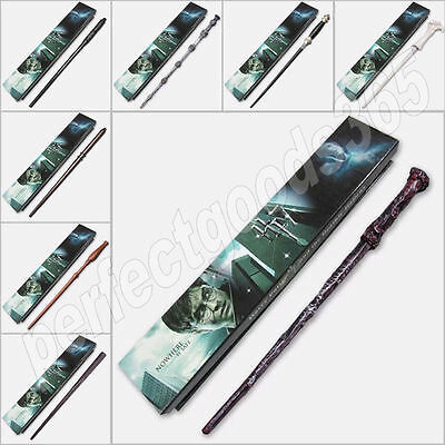 Harry Potter Wands Wand Collectable Hermione Dumbledore Voldemort Snape Gift UK