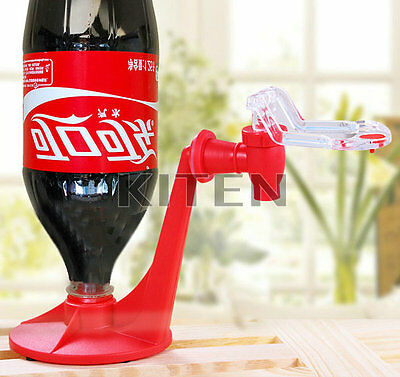 2LCola Drinking Water Kitchen Gadget Fizz Saver Soda Dispenser Bottle Drink Rack