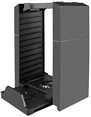 PS4 Controllers Vertical Stand,Powstro Cooling Station Dual Shock System For
