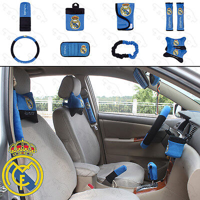 ON SALE# NEW Real Madrid Car Accessories 10 PCS