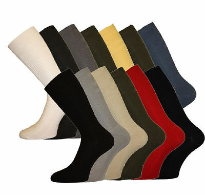 Mens HJ Softop, COTTON rich socks, HJ91, size 6-11, 11-13, 13-15. Many Colours