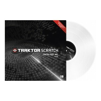 Native Instruments Traktor Scratch Timecode Vinyl MK2 clear