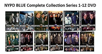 NYPD BLUE Complete Collection Series 1-12 DVD All Season Original UK Release NEW