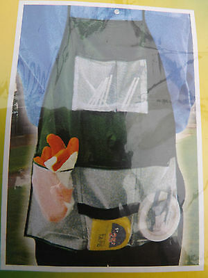 Garden Apron with Pockets Free P&P