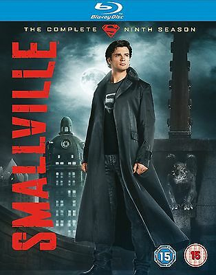SMALLVILLE Complete Series 9 Blu Ray 9th Ninth Nineth Season Nine UK RElease