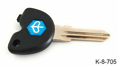 Piaggio Transponder  holder key Blank. New. Liberty, Beverly, Skipper ST, Fly