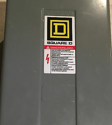 SQUARE D 8903 Type L and LX LIGHTLY USED 12PLIGHTING CONTACTOR 277V COIL