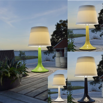 Outdoor Solar Power Table Lamps for BBQ and Patio Table Stand lights for garden