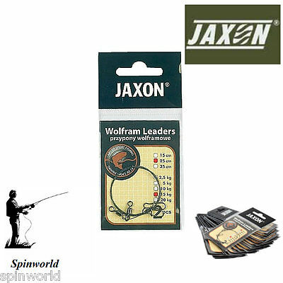 Jaxon Wolfram Leaders 15cm 10kg  Pike Fishing tungsten leader 2pcs in pack