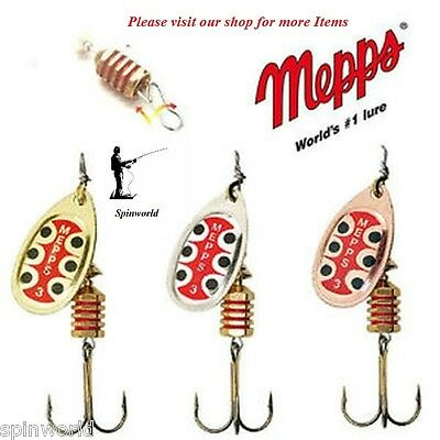 Mepps TW Spinner Variety colours & Sizes 1st class post