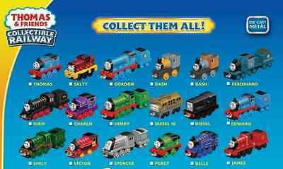 Fisher Price Thomas And Friends Adventures Collectible Die Cast Railway Assort