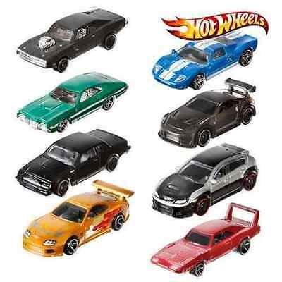 Ckj49 Mattel 2015 Hot Wheels Fast And Furious Diecast Set All 8 Dodge Charger