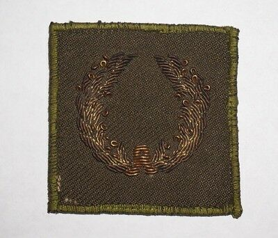 MUC Bullion Meritorious Unit Commendation Patch WWII US Army P2965