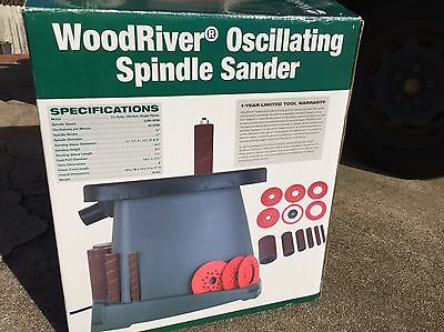 1/2hp Oscillating Spindle Sander Wood River