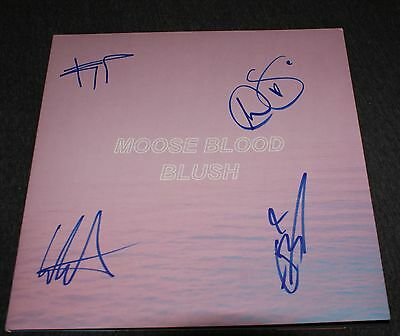 Moose Blood Signed Blush Vinyl Exact Proof Coa I'll Keep You In Mind From Time