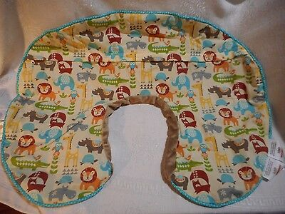 BOPPY Baby Cover Nursing Feeding Pillow Slipcover Monkeys Jungle Patch NEW