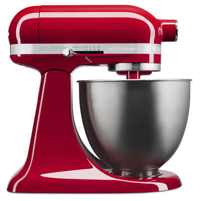 NEW KitchenAid Artisan Mini Empire Red Stand Mixer
