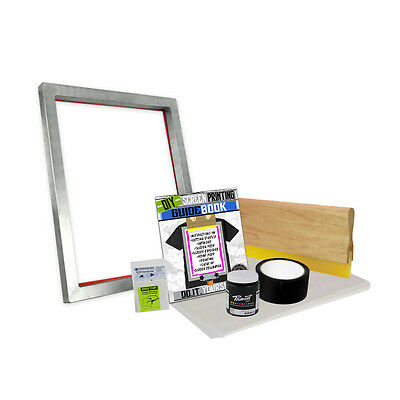 DIY Bare Bones Kit with Blank Screen Printing Starter Beginner 00-1