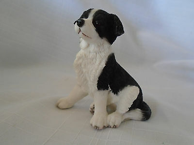 2005 Country Artists Border Collie Puppy Dog Figurine