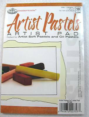 Royal Langnickel Essentials Soft Pastel & Oil Artist Pastel Paper Pad
