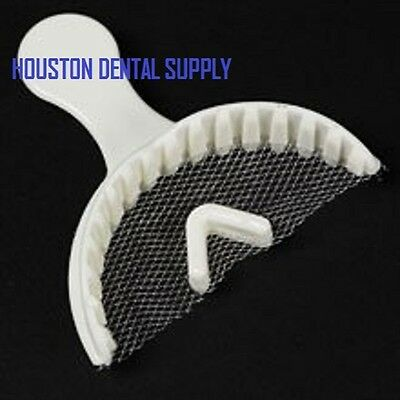 Dental Bite Registration Impression Tray ANTERIOR 35 PCS/BAG Triple Trays