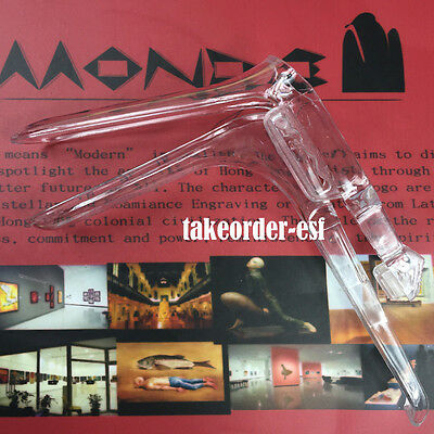 1 pcs Vaginal Speculum Size L Disposable Plastic Clear