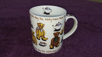 Paul Cardew Ted Tea Teddy Bear Cup Mug Picnic Day Mint 8oz