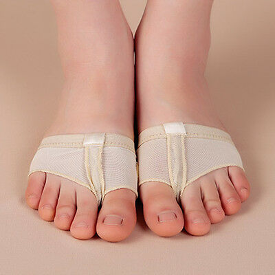 1 Pair Ballet Dance Paws Cover Foot Forefoot Toe Cushion Pad Half Protection AU