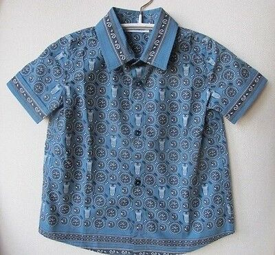 Dolce And Gabbana Baby Blue Owl Shirt 12 Months