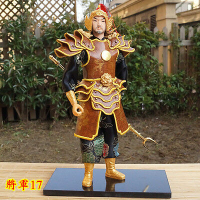12.99'' Tall  Ancient Chinese Hanmade Soldier Commander General Handmade