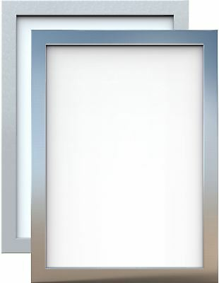 Silver Chrome Picture Frame Poster Photo Frame Various Sizes Available Square