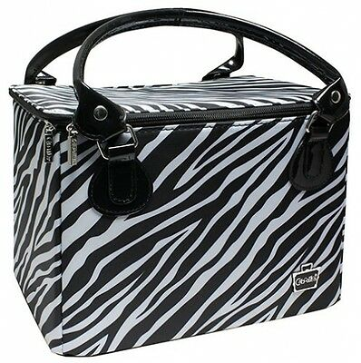 Caboodles Sweet and amp; Sassy Large Tapered Tote, Zebra Print