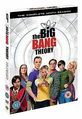 The Big Bang Theory Complete Season 9 DVD Nineth 9th Series Nine UK Release New