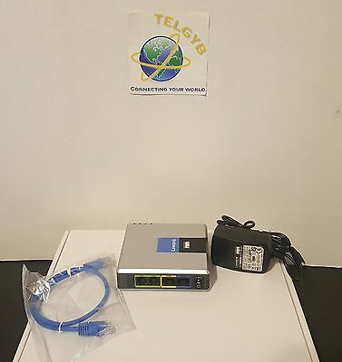 UNLOCKED SELLER REFURBISHED Linksys SPA 2102 SIP VoIP Adapter Tested W/ PS