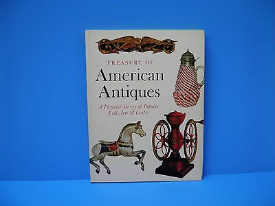 Old Treasury of American Antiques Book Hornung Abrams Collectible Book Folk Art