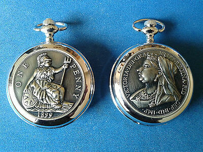 Pocket Watch No.19 Hunter, Old Victorian Penny Design Ideal Gift/collectable