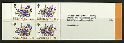 Guernsey 1992-96  Scott # 490b  Mint Never Hinged Complete Booklet