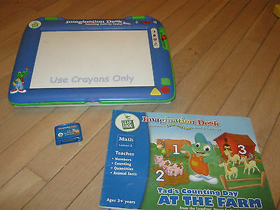 Leap Frog Imagination Desk Interactive Learning System, Educational Toy