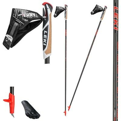 Original LEKI Walker Platinium, Nordic Walking 100% Carbon, Modell 2017, NEU !