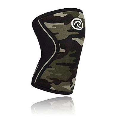 Rehband Rx Knee Support 7751 5mm - Medium - Camo- Expand Your Movement + Cro...