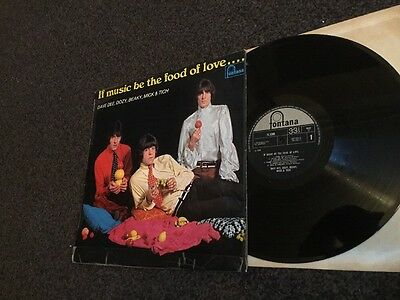 DAVE DEE, DOZY, BEAKY, MICK & TICH, VINYL LP-IF MUSIC BE THE FOOD OF LOVE-mono