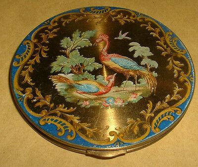 Vintage Beautiful Bird Compact